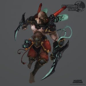 Shattered Earth - Acolyte B - Concept ArtShattered Earth - Acolyte B - Concept Art
