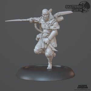 Shattered Earth - Acolyte B - Sculpt