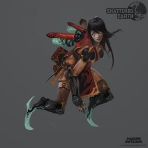 Shattered Earth - Acolyte C - Concept Art