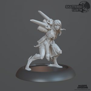Shattered Earth - Acolyte C - Sculpt