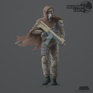 Shattered Earth - Coyote A - Concept Art