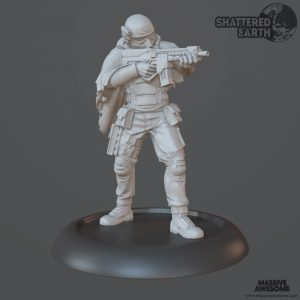 Shattered Earth - Coyote A - Sculpt