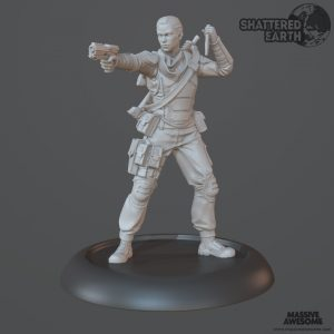 Shattered Earth - Coyote C - Sculpt