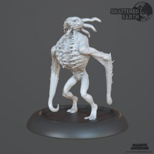 Shattered Earth - Drekavac A - Sculpt