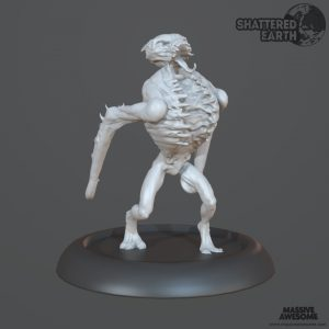 Shattered Earth - Drekavac B - Sculpt