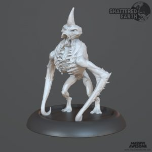 Shattered Earth - Drekavac C - Sculpt